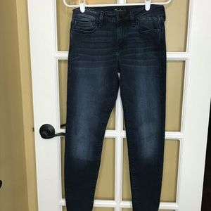 Mavi Jean Co Alexa Ankle Mid Rise Skinny Jean 28
